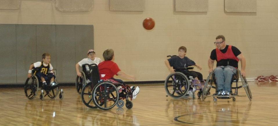 Wheelchair Basketball Photo