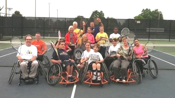 Tennis group photo