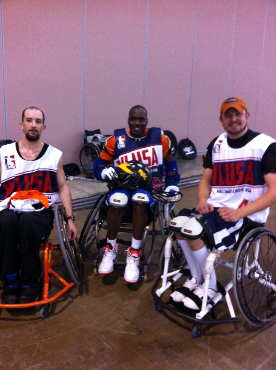 Wheelchair Lacrosse Photo